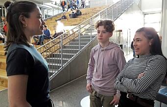 — Jeg får fravær for å klimastreike. Men det koster å stå for noe, sier Linnea (14) ved Frydenberg ungdomsskole