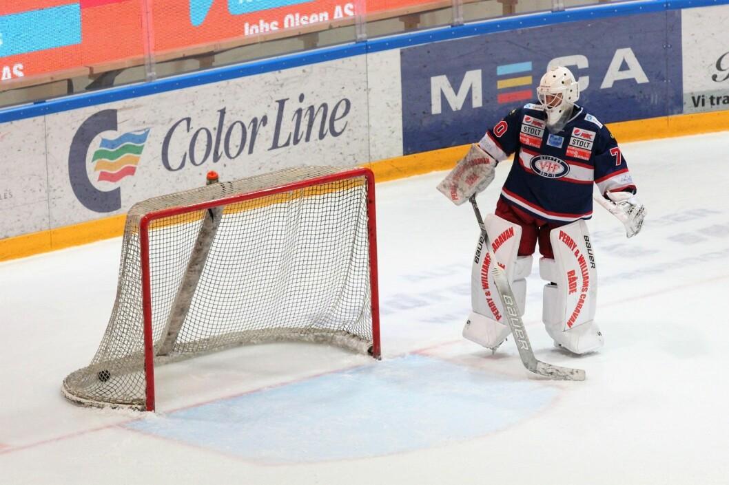 Vålerenga måtte se seg slått av Asker i første semifinalekamp. Foto: André Kjernsli
