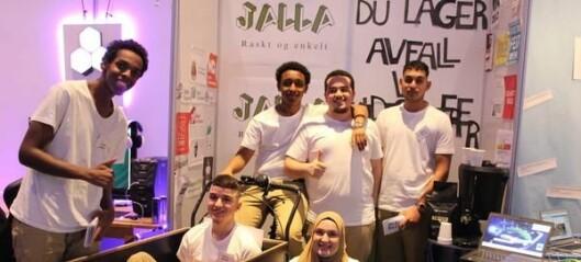 Jalla Miljø fra Hersleb forsvarer Oslos ære i NM for ungdomsbedrifter