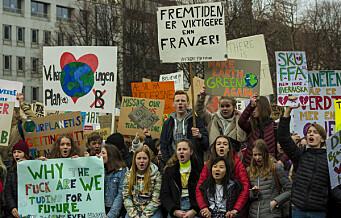 – Klimastreikernes krav må endre oslopolitikken