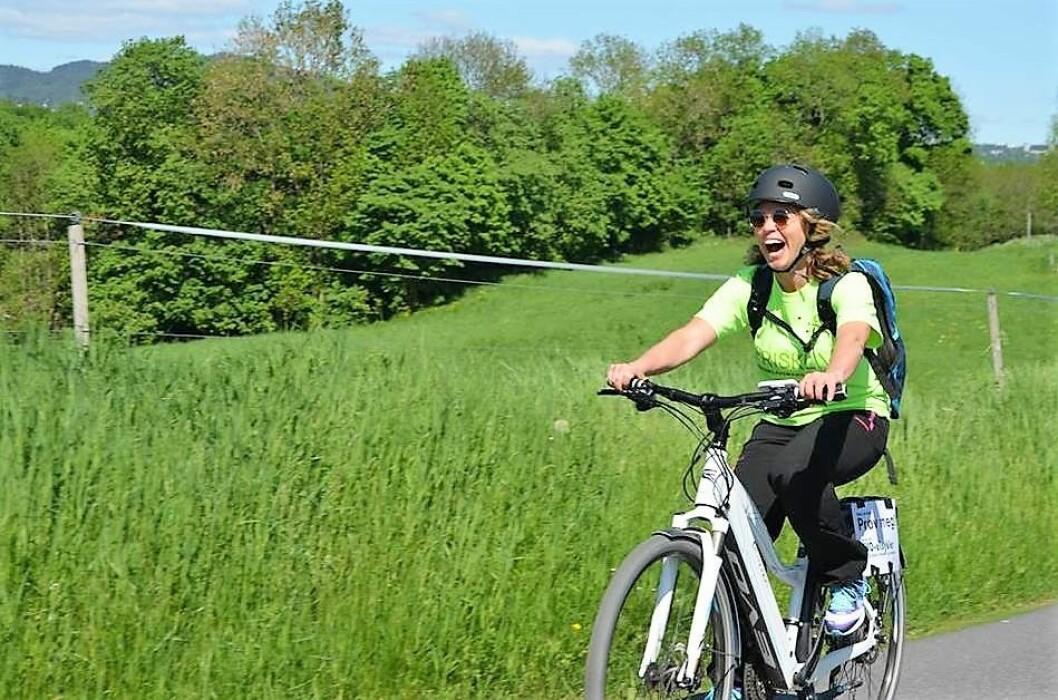 Nå blir det tillatt for elsyklister å ta med sykkelen langt inn i marka. Foto: Naturvernforbundet i Oslo og Akershus