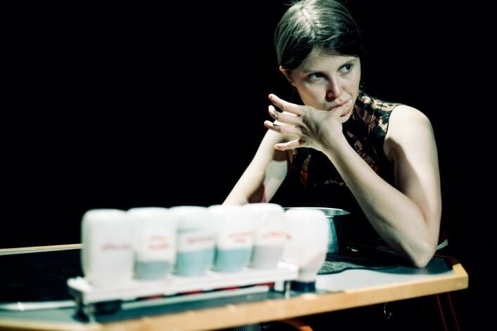 Eili Harboe gjør en god rolletolkning i After the end. Foto: Lucas Leonardo Ibanez-Fæhn