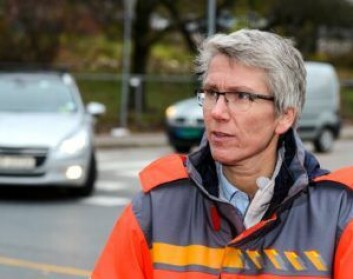Guro Ranes i Statens Vegvesen frykter både ulykker og skader i trafikken med de nye elsparkesyklene. Foto: Knut Opeide, Statens vegvesen
