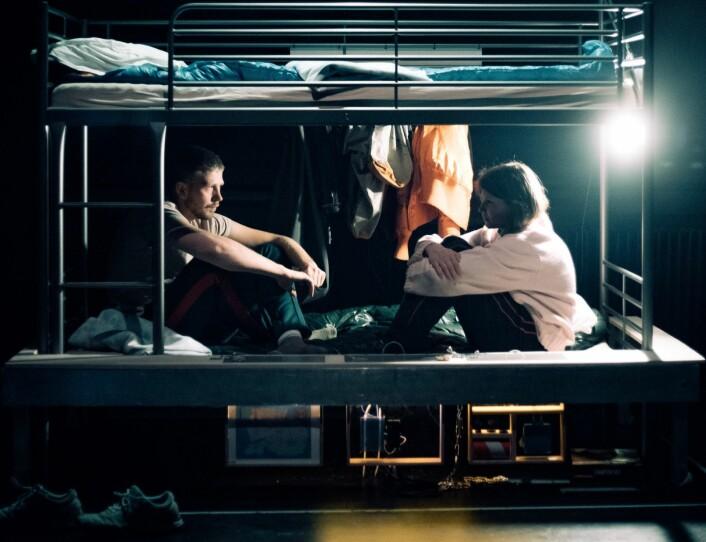 Antiteateret setter opp stykker som skiller dem fra andre teatre. Foto: Lucas Leonardo Ibanez-Fæhn