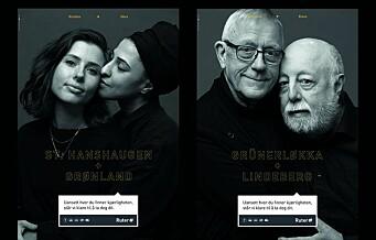 Ruter kjører en grensesprengende kampanje om kjærlighet på tvers av bydeler