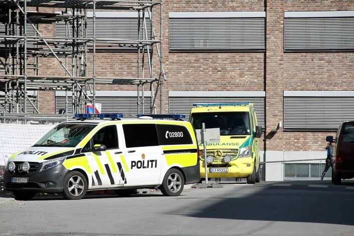 Mannen som ble kjørt til legevakta spyttet helsepersonellet i ansiktet og har nå status både som fornærmet og mistenkt. Foto: Per Øivind Eriksen