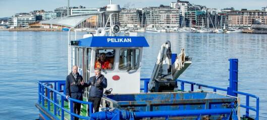 Oslo Havn bygger elektrisk miljøbåt som skal plukke søppel i havna