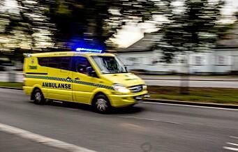 Sparkesyklist bevisstløs etter fall på Sofienberg