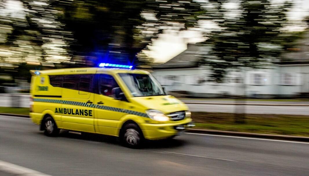 En taxisjåfør fant sparkesyklisten og meldte fra til politiet.