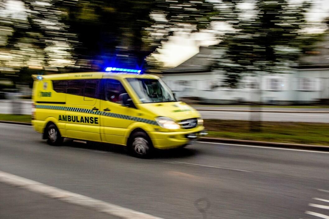 Ambulansesjåførene er redde for at svært mange gater i Oslo er under opprustning samtidig. Foto: Stian Lysberg Solum / NTB scanpix