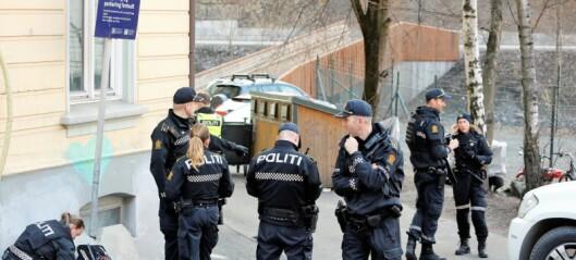 Mann skutt i foten på nedre Grünerløkka