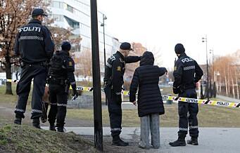 Ingen pågrepet etter skyting i Oslo