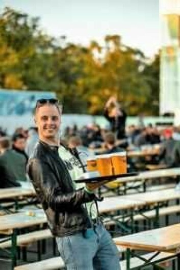 Lars Joachim Kvernrød Hagen er daglig leder av Utendørs. I år ønsker han forslag til tiltak uteserveringen kan støtte økonomisk. Foto: Nordic festivals