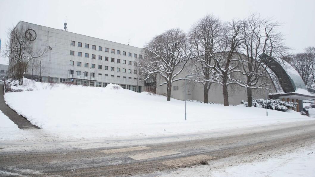 NRKs store studio er blant bygningene som er fredet på Marienlyst. Illustrasjonsfoto: Terje Bendiksby / NTB scanpix