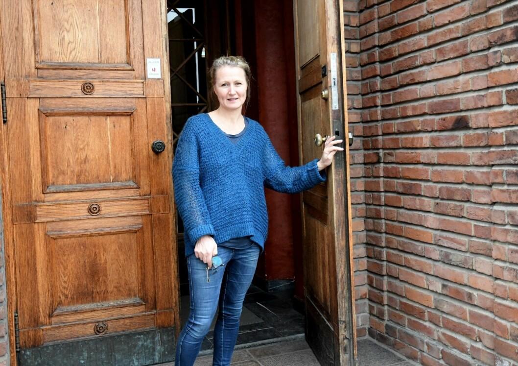 Prosjektleder for Vigelands-jubileet, Guri Skuggen, gleder seg til å åpne dørene til den storstilte jubileumsutstillingen. Foto: Christian Boger