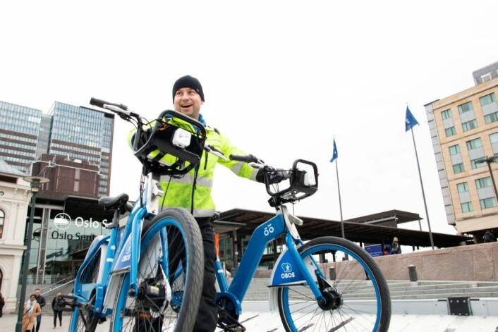 700 nye og bedre bysykler er med på å styrke årets tilbud til Oslos urbane syklister. Foto: Vilde Bang Foss