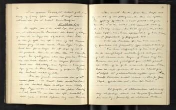 Fra Arthur Knagenhjelms dagbøker.