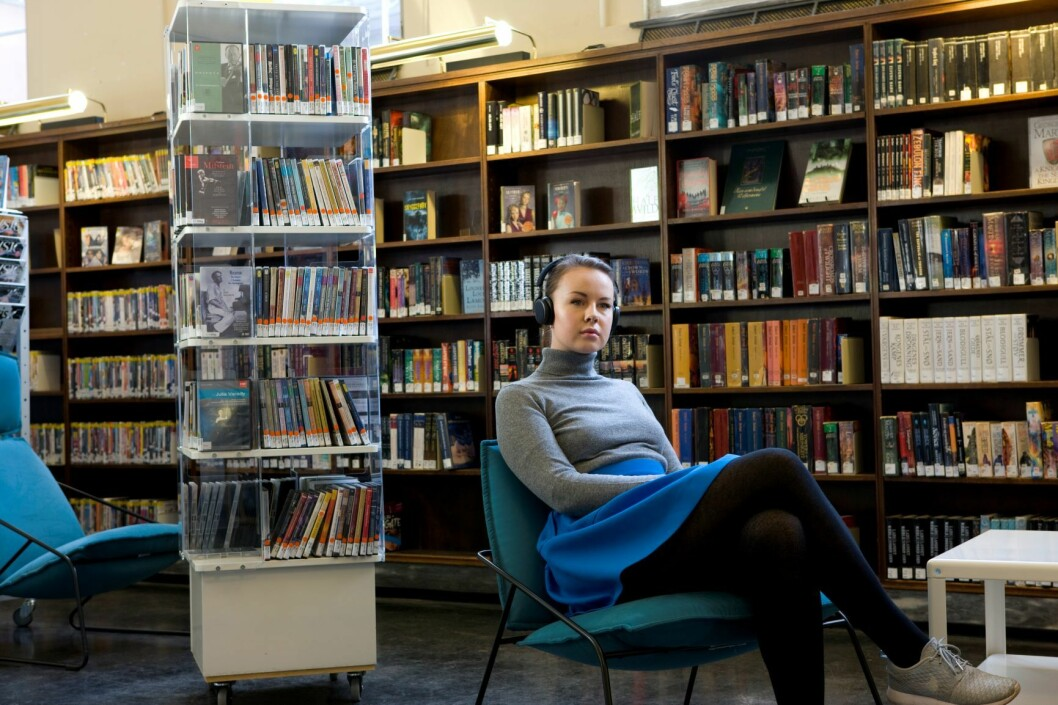Nå kan du låne over 1000 titler på engelsk på Deichman. Foto: Thomas Brun / NTB scanpix