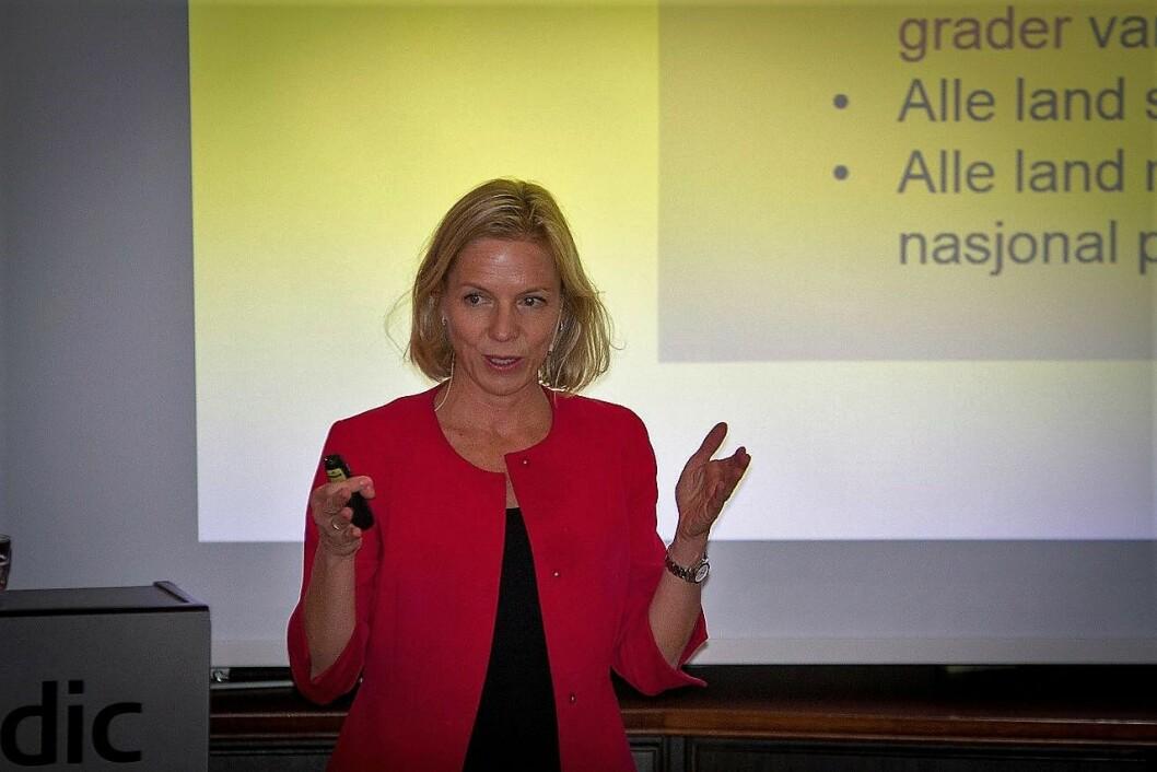 Marte Gerhardsen blir sannsynligvis den nye utdanningssjefen i Oslo etter Astrid Søgnen. Foto: NVE / Wikipedia