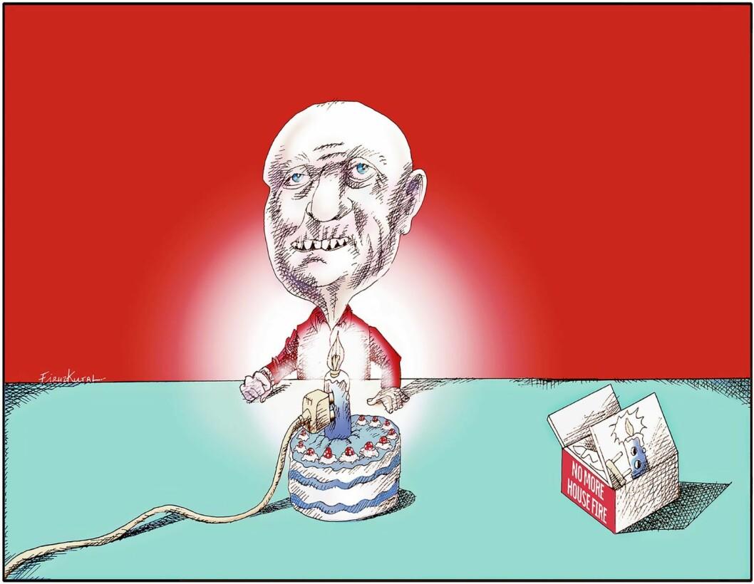 Illustrasjon: Firuz Kutal