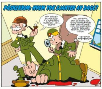 Billy tegnes nå for første gang av en norsk tegneserietegner. Illustrasjon: Egmont Publishing