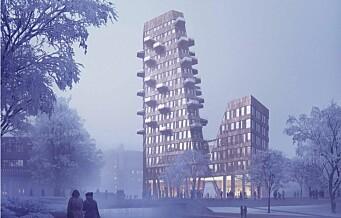 — Høyhus og ekstrem fortetting tvinges på oss ved at utbyggere har en såkalt miljøprofil
