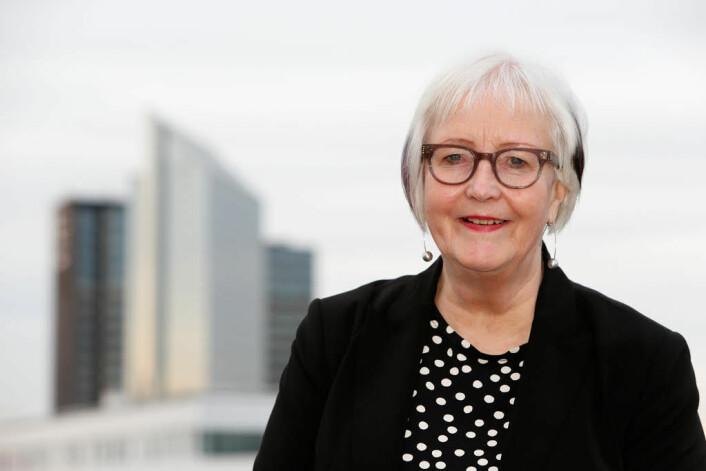 Ellen de Vibe gir seg som sjef for plan- og bygningsetaten 1. juni og går over i pensjonistenes rekker. Den profilerte toppbyråkraten vært byplansjef for Oslo i 20 år. Foto: Plan- og bygningsetaten