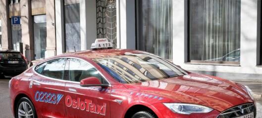 — Konkurranse i drosjenæringen er sunt