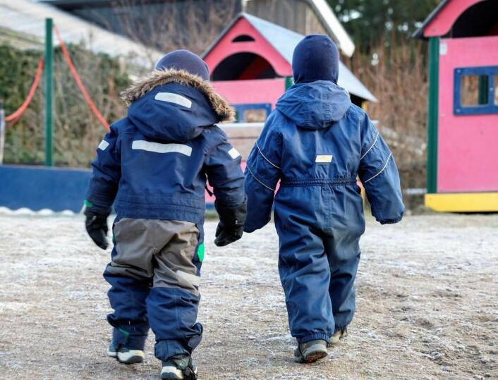 Byrådsleder Raymond Johansen vil at flere innvandrerforeldre i Oslo velger å sende barna i barnehage fremfor å ta ut kontanstøtte. Foto: Gorm Kallestad / NTB scanpix