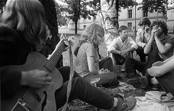 — Vi samlet oss i Oslo sentrum og hadde langt hår. Politiet jaget oss faktisk før dop kom i miljøet