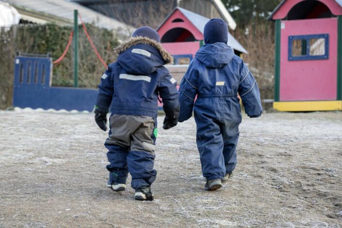 I bydel Frogner er antallet bekymringsmeldinger fra barnehager til barnevernet mer en doblet. I 2015 var det 12 bekymringsmeldinger, mens det i fjor var 27.<br />Foto: Gorm Kallestad / NTB scanpix