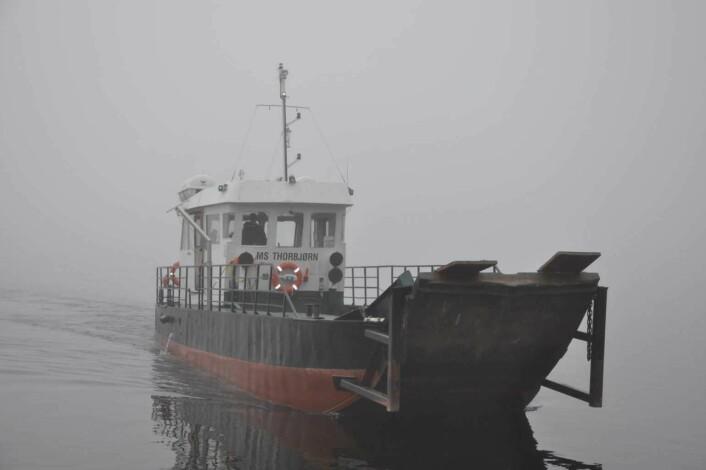 M/S Thorbjørn frakter oss trygt det samme strekket av Tyrifjorden som mange overlevende ungdommer svømte 22. juli 2011. Foto: Arnsten Linstad