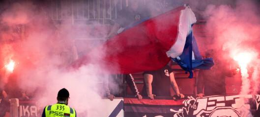 Vålerengafans med ulovlig pyro i Bergen da VIF tok årets første bortepoeng