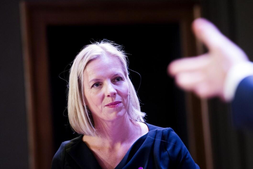 � Jeg er både glad og ydmyk, sier Marte Gerhardsen etter at Ap/SV/MDG-byrådet innstiller henne til jobben som ny utdanningsdirektør i Oslo. Foto: Håkon Mosvold Larsen / NTB scanpix