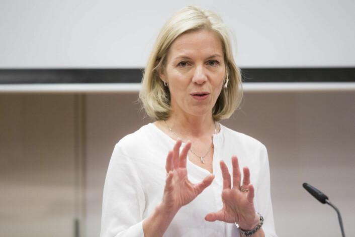� Jeg er både glad og ydmyk over muligheten til å utvikle Osloskolen videre sammen med 15.000 dyktige og engasjerte medarbeidere, sier Marte Gerhardsen. Foto: Berit Roald / NTB scanpix