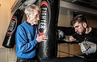 Den legendariske bokseren Birger «Biggen» Olsen (88) hedres som årets ildsjel