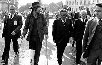 Henning Dahl – rebellen som lurte Henry Kissinger på besøk i Oslo. Vises som teaterstykke