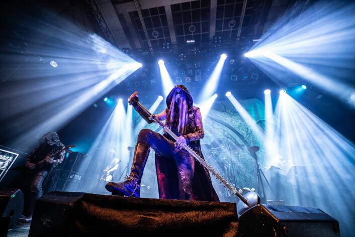 Oslobandet Dimmu Borgir er en av Norges største musikalske suksesser uansett sjanger, med over flere millioner album solgt på verdensbasis. Foto: Terje Ottesen / Inferno Metal Festival