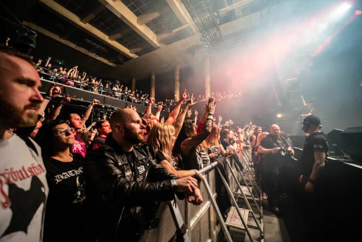 Billettprisene var stive, men til gjengjeld sto stemningen høyt i været. Foto: Terje Ottesen / Inferno Metal Festival