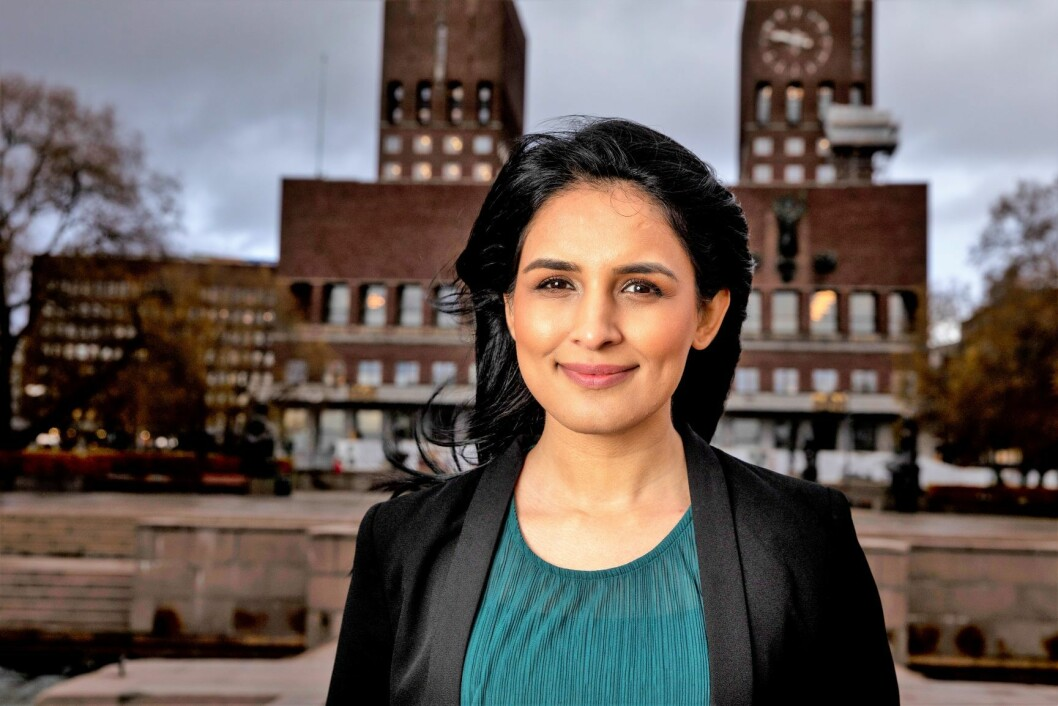 Saida Begum er Høyres ordførerkandidat i Oslo. Hun ønsker flere tiltak for å hindre at barnehagene forsterker sosiale forskjeller. Foto: Tore Meek / NTB scanpix