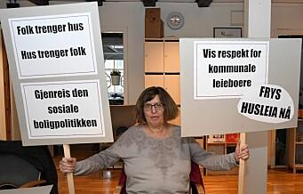På 1. mai tar boligaksjonistene til Oslos gater. – På tide at kommunen fryser husleiene, mener de