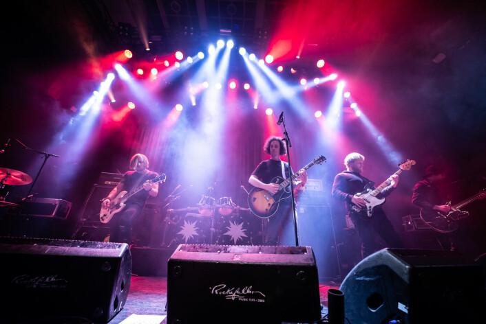 Svenske Witchcraft var et av trekkplastrene til Inferno. De har gitt ut fem album og vært på verdensturne. Foto: Terje Ottesen / Inferno Metal Festival