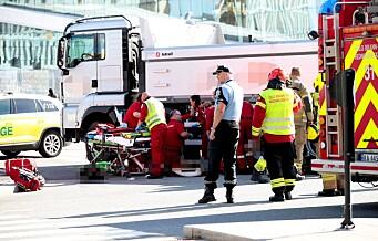 Lastebilsjåfør tiltalt for uaktsomt drap etter at syklist ble påkjørt ved Operaen