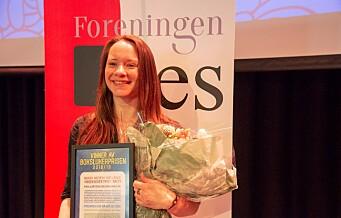 Tøyen-forfatteren Mari Moen Holsve (32) er kåret til barnas favoritt-forteller