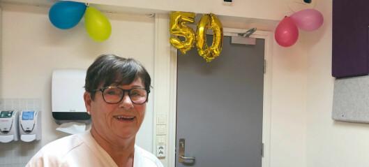 Kjellfrid «Mor Legevakt» Sunde har jobbet på Legevakten i Oslo i 50 år