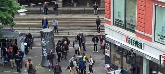 – La oss snakke om åpne rusmiljøer i Oslo Sentrum