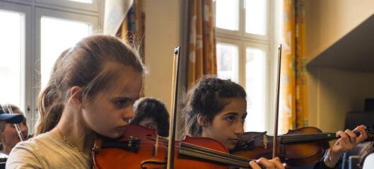 – Oslos neste filharmonikere kommer fra Tøyen orkester. Barneorkesteret er kommet for å bli