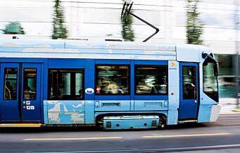 Byrådet går motsatt vei av regjeringen og samler trikk og T-bane i ett selskap