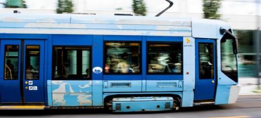 Person til sykehus etter trikkepåkjørsel i Thorvald Meyers gate på Grünerløkka