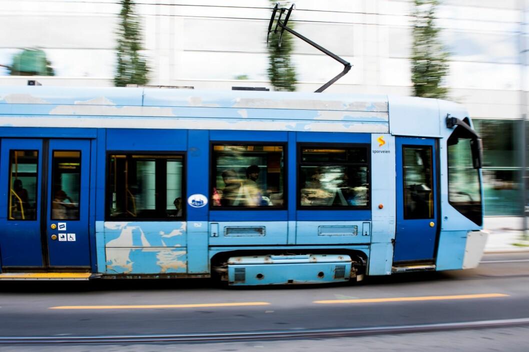 Trikkene og T-banen i Oslo skal samles til ett selskap. Foto: Jon Olav Nesvold / NTB scanpix